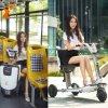 Rotelle di buona qualità tre che piegano il motorino elettrico di mobilità