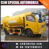 6m3 5ton Vakuumabwasserkanal-Becken-Fahrzeug-Vakuum, das LKW saugt