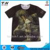 2016 het In het groot Ontwerp van de T-shirt, de Druk van de T-shirt van de Douane, Lege T-shirt