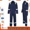 Vêtements de travail élevés d'aéroport de vêtements de travail de visibilité avec la combinaison r3fléchissante de bande