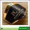 Emblem-Kennsatz des Fabrik-kundenspezifisches Metallaluminium gedruckter Wein-3D mit gutem Aufkleber
