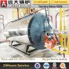 Chaudière à vapeur à gaz de pétrole gazier, gaz naturel, GNL, GNV, diesel, à 0,5-10ton / H