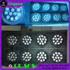 LED DMX tricolore 8 yeux blinder la lumière de l'auditoire