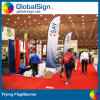 2015 Xangai Globalsign sinalizadores de praia, sinalizadores de penas para Prmotion