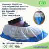 Desechable PP + CPE antideslizante y cubierta de zapatos a prueba de agua