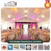Tienda de la boda para 500 personas con decoraciones y acondicionadores de aire