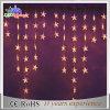 LED de vacaciones de Navidad decorativo cadena ligera del carámbano