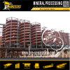 Maquinaria mineral del separador del espiral del mineral de la gravedad del equipo de la reducción de la minería aurífera
