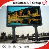 Exhibición de LED publicitaria a todo color al aire libre de la exportación P8 SMD de China