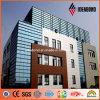Los paneles de pared de aluminio múltiples de la fachada del diseño 4m m del edificio del color