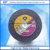 Disco de corte abrasivos para la rueda de corte de acero inoxidable