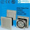 プラスチック換気扇およびフィルター(FK5521)