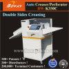 O dobro de estratificação do tamanho do papel de A3 A4 toma o partido Full Auto de múltiplos propósitos que vinca a máquina de perfuração