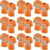 Дешевые мужские детей женщин малышей Майами Брэндон Doughty Кенни фотографии Devante Паркер Ajayi Elite оранжевый Rush американского футбола футболках Nikeid Custom любое имя цифры