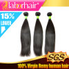 человеческие волосы Extensions Virgin Remy Straight бразильянина 7A Grade 18  100%
