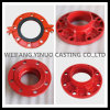 Fire Grooved Fittings Adaptor Flange pour Fire System