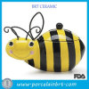 Vente en gros Creative Honey Bumble Bee Ceramic Cookie Storage Jar