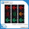 赤い黄色緑の面LEDの矢の信号および1つのデジタル秒読みのタイマー