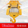 Velocidade dupla elétrica de grua Chain de 35 toneladas (WBH-35016D)