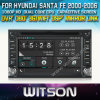 Witson Специальный автомобильный радиоприемник с GPS Hyndai Санта-Фе (W2-D9900Y)