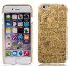Caixa de madeira real móvel do telefone de pilha dos acessórios iPhone6/6s