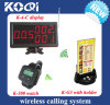 Restaurant Remote Calling System met Ce in 433MHz