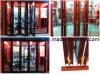 Porta de dobradura de alumínio eficiente vitrificada dobro da energia da alta qualidade (TS-005)