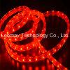 IP68 flexibles rojos impermeabilizan tiras de la luz de SMD3528 50LEDs 220VAC LED