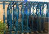 CER Quality 9 Shelves Glass Storage Rack Systems für Glass