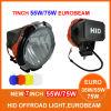 7дюйм ксенонового фонаря направленного света ксеноновых фар дальнего света по просёлочным дорогам,9-32V Eurobeam постоянного тока