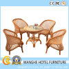 Outdoor Garden Rattan Wicker Bar Table Chair Set