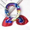 Бортпроводников деловой печати квадратных подражать шелковые шарфы