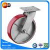 200mm Roheisen PU-Rad-industrielle Rad-Fußrolle
