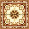 azulejos de suelo del rompecabezas del diseño de la flor de 1200*1200m m para la sala de estar