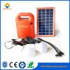 LED 빛을%s 가진 소형 태양 에너지 시스템이 1.7W에 의하여 집으로 돌아온다