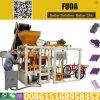 Couplage de Qt4-24b rendant la machine de fabrication de brique concrète manuelle