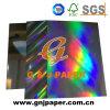 Papier cartonné olographe transparent personnalisé de modèle pour l'empaquetage