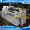 4 Rollengewölbte Platten-Metallwalzen-Maschinen, die im Dampfkessel bilden