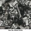 Numéro neuf S043f1227b de film d'impression de transfert de l'eau de crâne de hache