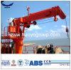 2t 7m teleskopische Hochkonjunktur-Bestimmung-hydraulischer Marinekran