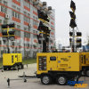Kruk van de Lamp van het Halogenide van het Metaal van de Macht van de Toren van de generator de Lichte Grote of de Hydraulische Aangepaste Aanstekende Alternator van de Dieselmotor van de Installatie van de Toren