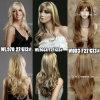 Onde popolari di nuova di stile delle ragazze delle donne dei capelli ondulati della parrucca di /Half della parrucca caduta completa lunga sexy delle parrucche
