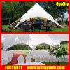 Tent van de Schaduw van de Ster van China de Witte voor OpenluchtDiameter 20m van het Huwelijk de Gast van Seater van 200 Mensen