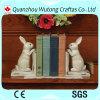 Figura reggilibro degli animali della resina di Hotsale dello scrittorio della resina per il regalo promozionale