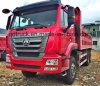 Descarga de HOWO/HOHAN 6X4/caminhão de Tipper com Cimc corpo da carga de Huajun