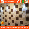 Décoration intérieure Panneau mural en PVC imperméable 3D pour salle de bain