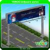 LED de rolagem na caixa de luz de Publicidade em outdoor Estrutura de Publicidade