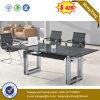 中国の光沢のあるオフィス表の在庫のオフィス用家具(NS-GD052)