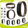 Bracelete IP67 esperto impermeável do perseguidor da aptidão de Brown da forma com podómetro