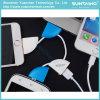 Tecla portátil Anel 4 em1 de 8 pinos do cabo de carregamento rápido USB para iPhone/Android Market/dispositivo porta USB
